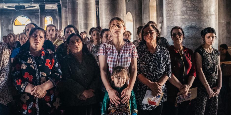 DISPLACE IRAQI CHRISTIANS