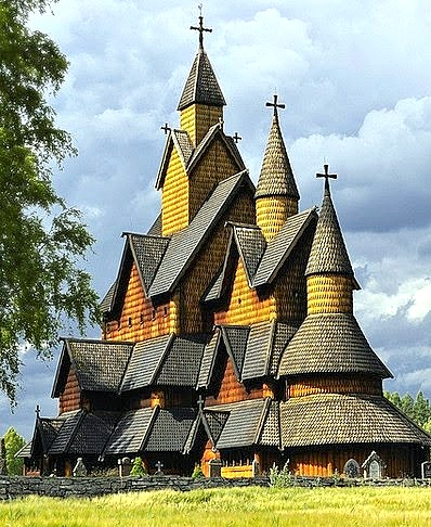 STAVE CHURCH,NORWAY