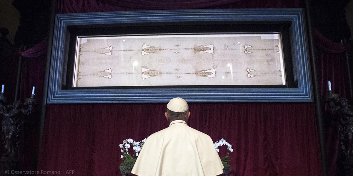 SHROUD OF TURIN,POPE FRANCIS
