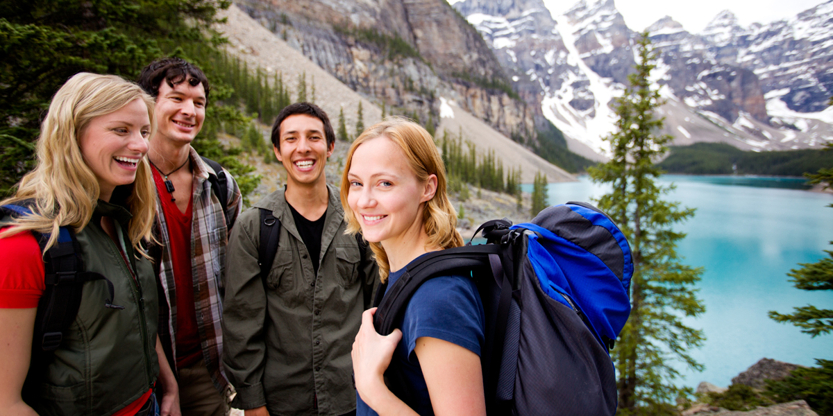 FRIENDS,HIKING,MOUNTAINS