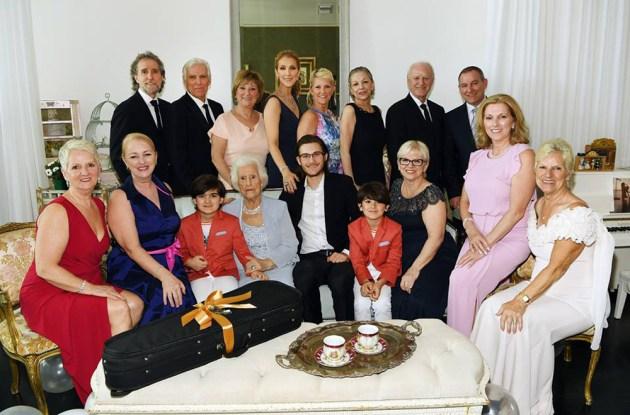 CELINE DION'S FAMILY