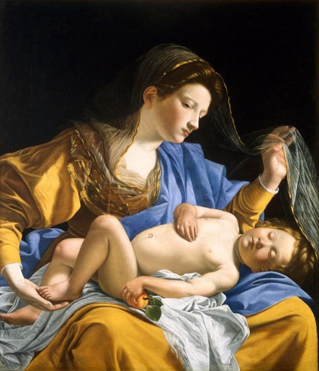 MADONNA;SLEEPING JESUS