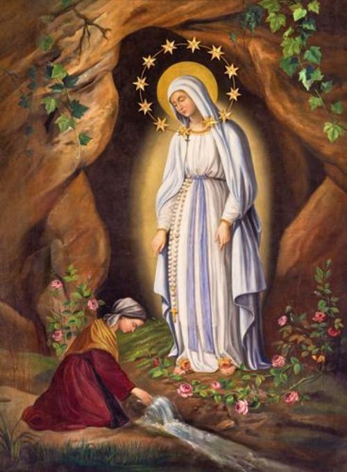 PRAYER OF ST BERNADETTE WHEN SUFFERING
